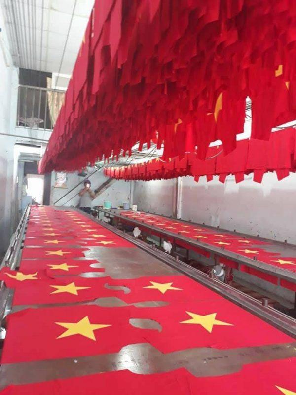 Xưởng in áo cờ đỏ sao vàng theo yêu cầu tại tphcm