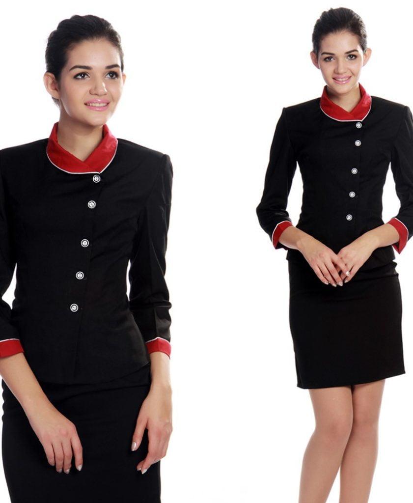 Đồng phục đẹp giúp lễ tân cảm thấy tự tin hơn
