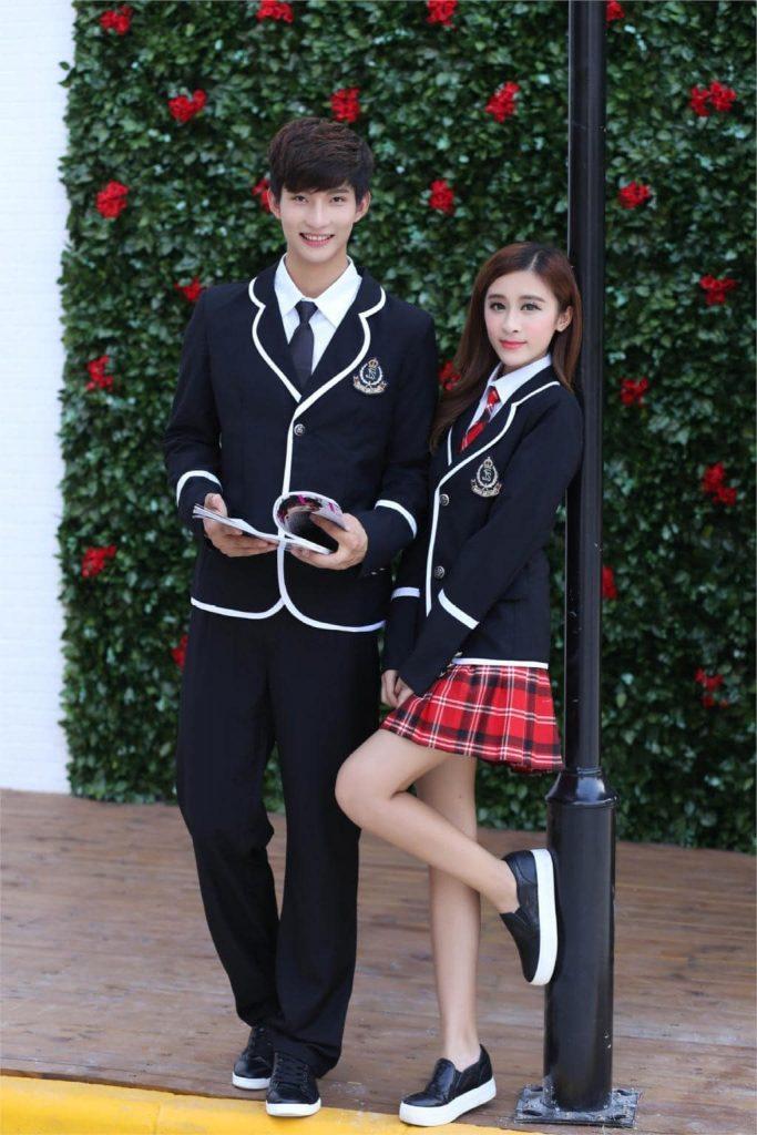Mẫu đồng phục cho học sinh cấp 3 đầy phong cách và thời thượng