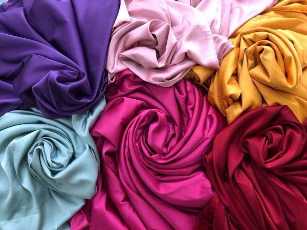 chất vải lụa