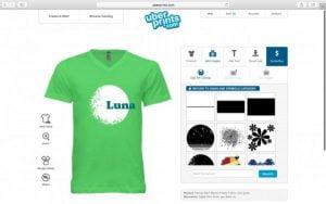 phần mềm thiết kế áo thun Uberprints