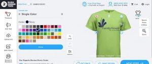 trang web thiết kế áo thun Rushordertees