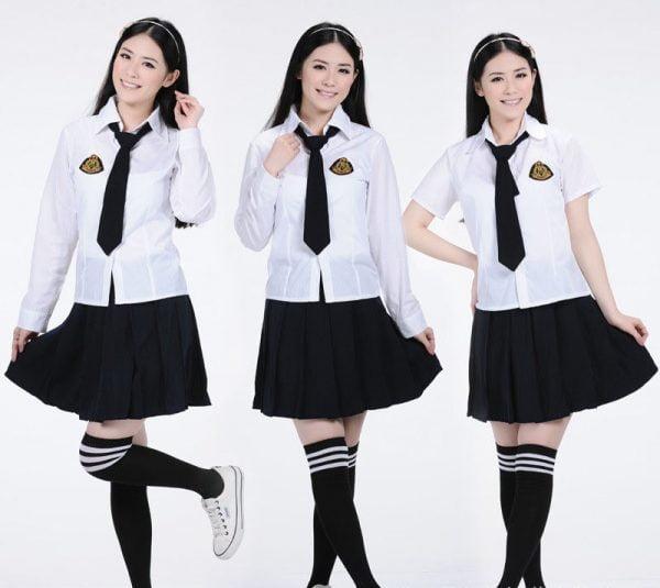 bộ đồng phục học sinh nữ hàn quốc