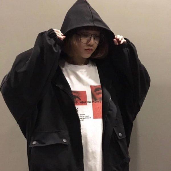 áo khoác nữ oversize đẹp