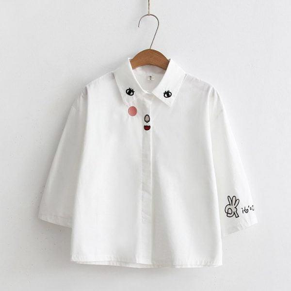 áo sơ mi form nữ