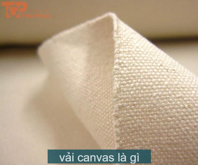 chất liệu vải canvas là gì