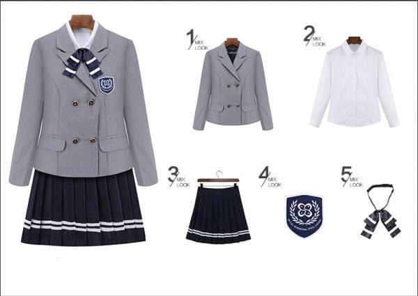 áo quần học sinh hàn quốc