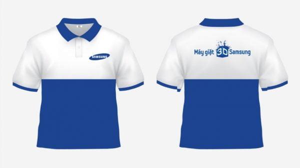 Đồng phục nhân viên bán hàng Samsung