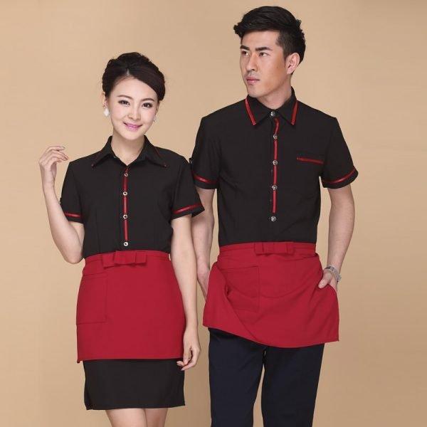 mẫu đồng phục quản lý nhà hàng