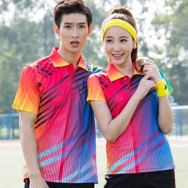 Đồng phục thể thao cầu lông nam nữ