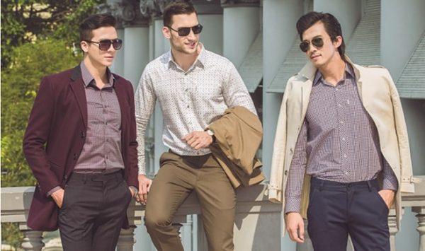 quần áo thời trang nam công sở