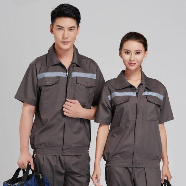 vải may đồng phục công nhân
