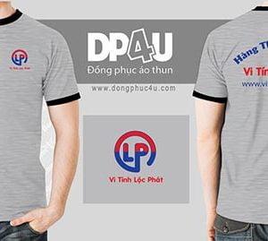 Áo thun cổ tròn DP4U