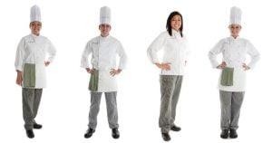 đồng phục đầu bếp nhà hàng