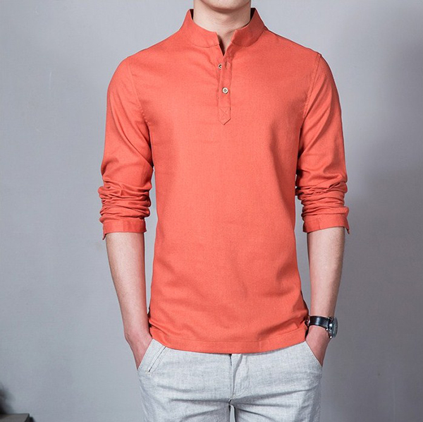 uniform-mandarin-collar-t-shirt