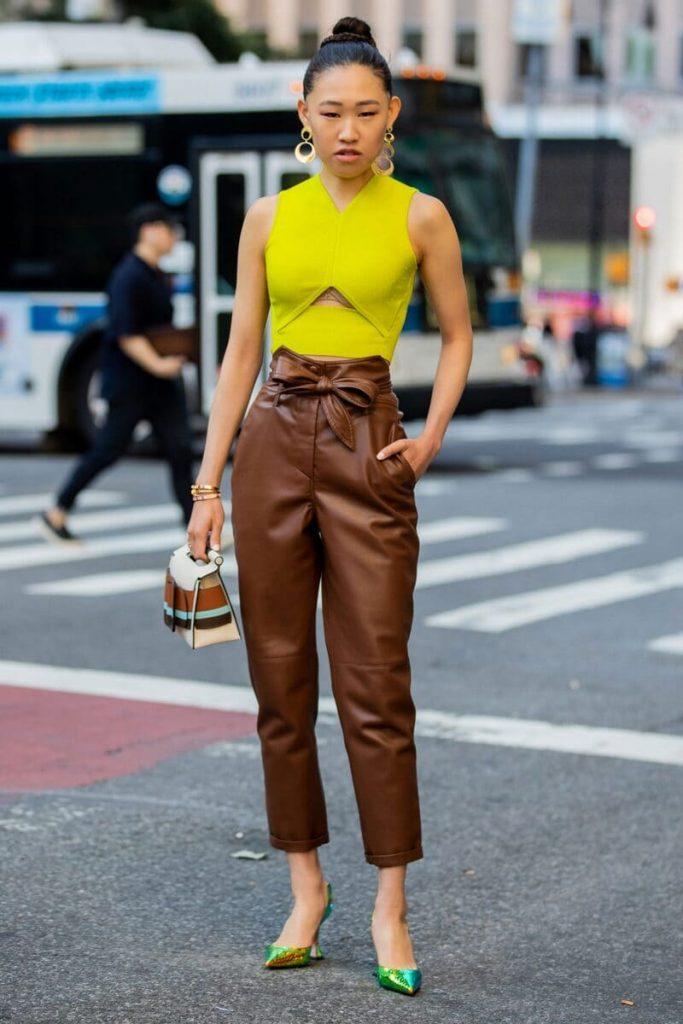 phối quần áo màu cực chuẩn với sắc tố da ấm