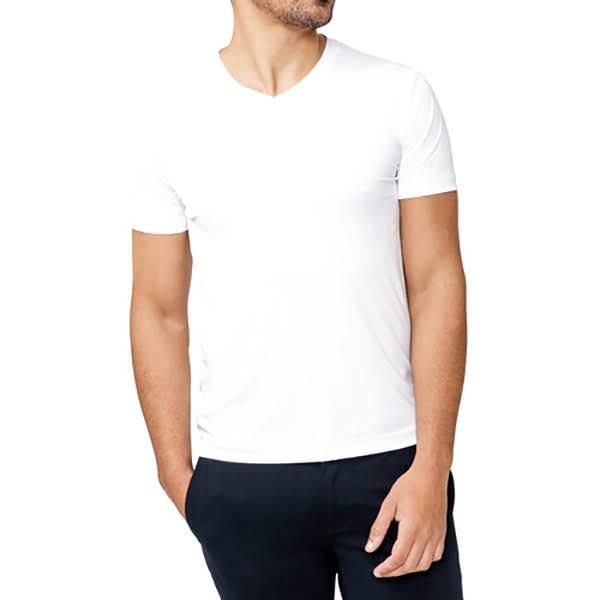 áo phông trắng có cổ