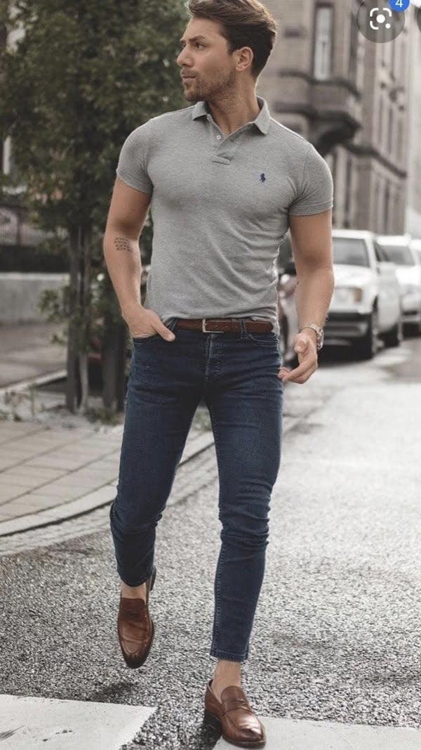 kết hợp với quần jean
