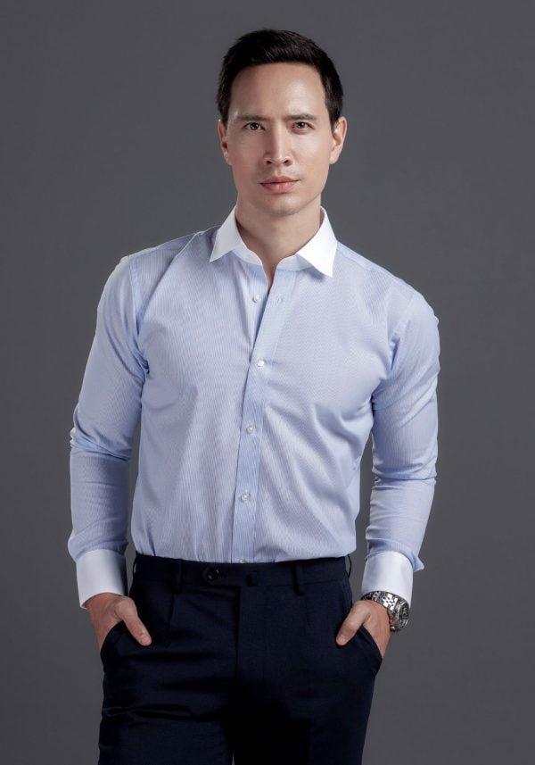 vải may áo sơ mi đẹp dobby