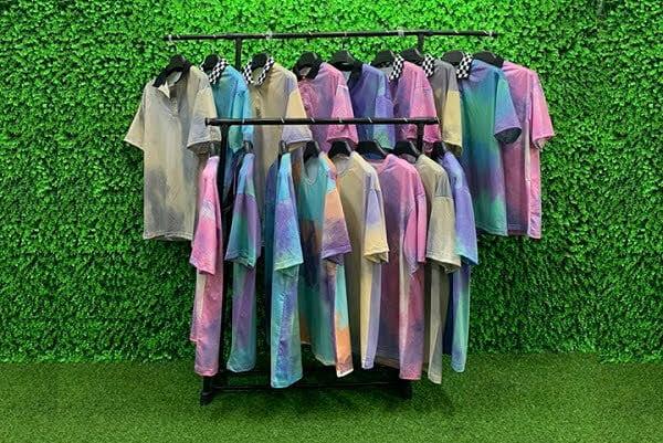 bst áo lớp tie dye