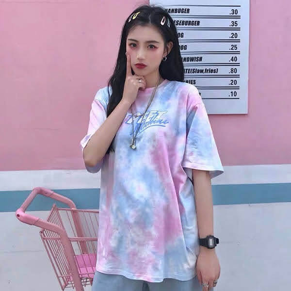 Áo lớp tie dye mẫu 1