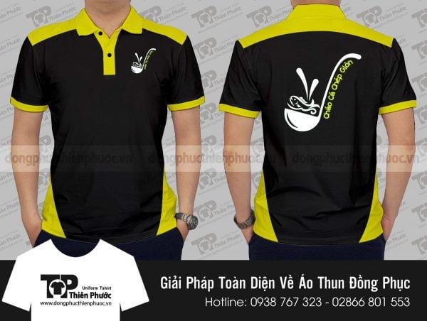 áo thun đồng phục quảng cáo Cá Chép Sài Gòn