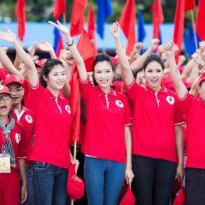 áo thun đồng phục sự kiện màu đỏ mẫu 01