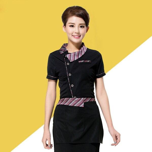 Áo thun quảng cáo màu đen