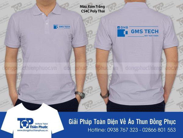 Áo thun đồng phục công ty GMS Tech