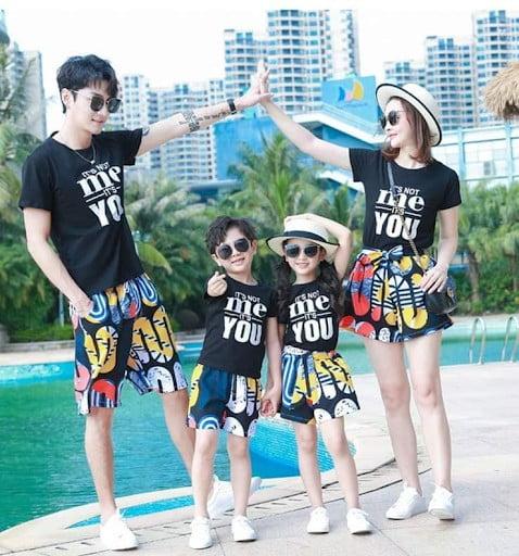 mua đồng phục gia đình giá sỉ