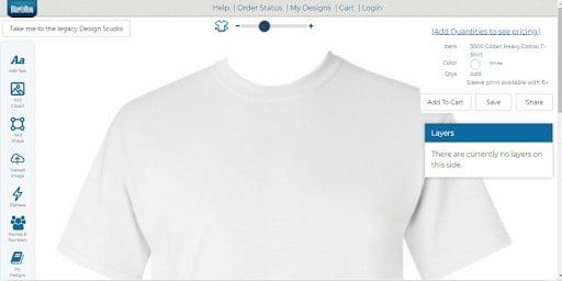 phần mềm thiết kế áo team