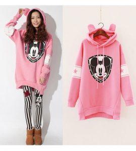 Áo hoodie dáng dài - Đồng Phục Thiên Phước