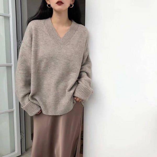 áo len nữ oversize cho nữ