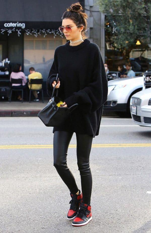 áo oversize nữ mùa đông