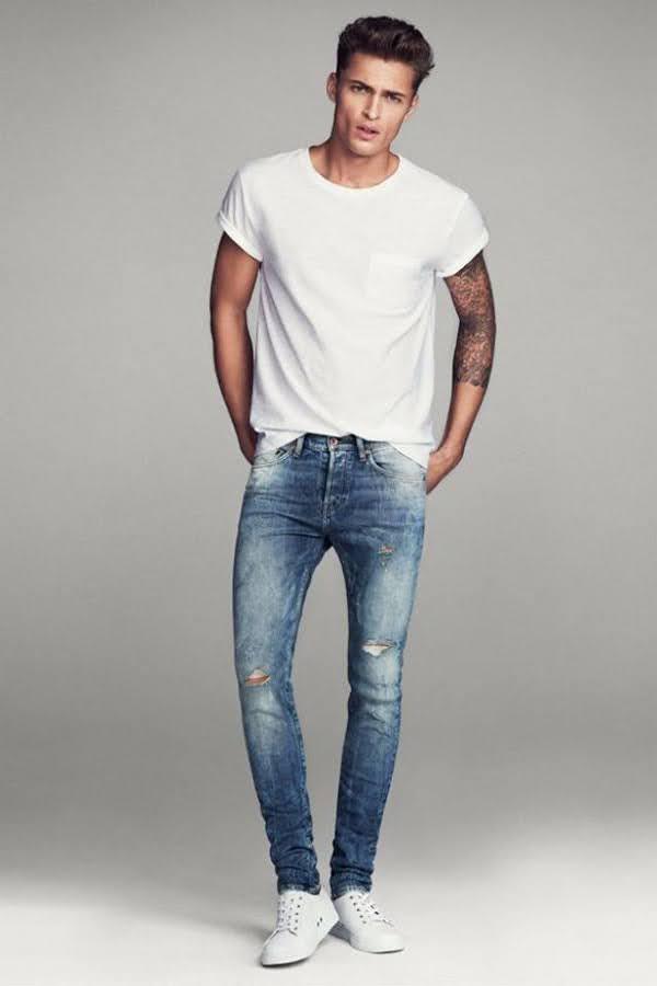 áo pull quần Jean
