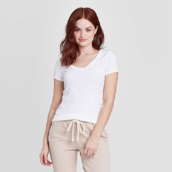 áo pull trắng