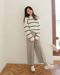 áo sweater phối quần dài - Đồng Phục Thiên Phước