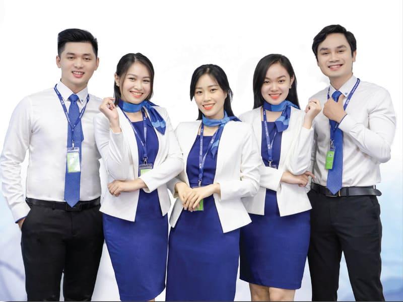 uniforms acb bank - Đồng Phục Thiên Phước