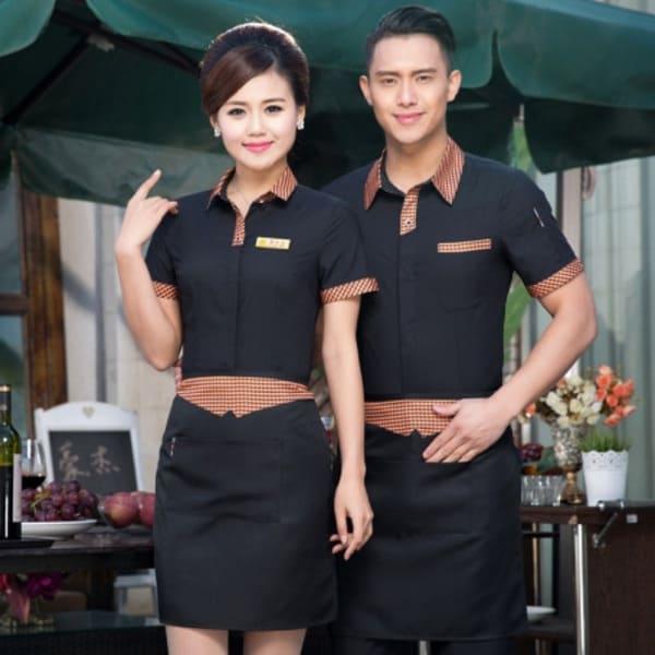đồng phục nhân viên cafe