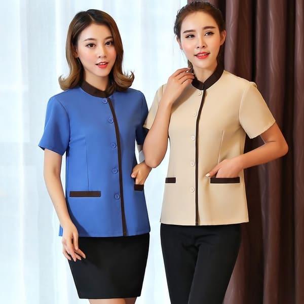 Đồng phục cho nhân viên tạp vụ nữ