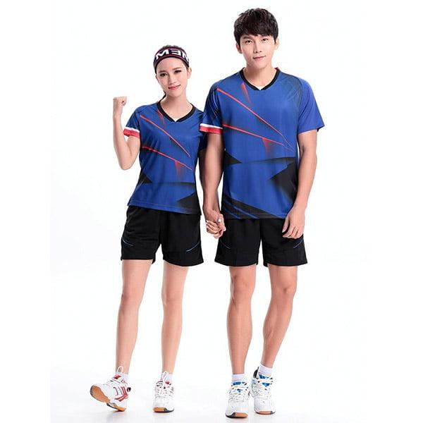 đồng phục thể thao màu xanh