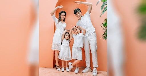 mua áo đồng phục gia đình ở hà nội