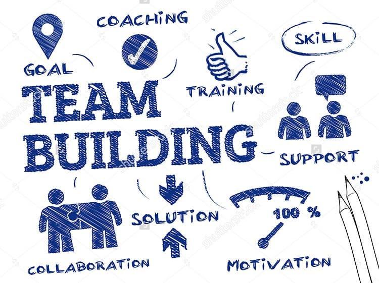 slogan team building hình tượng