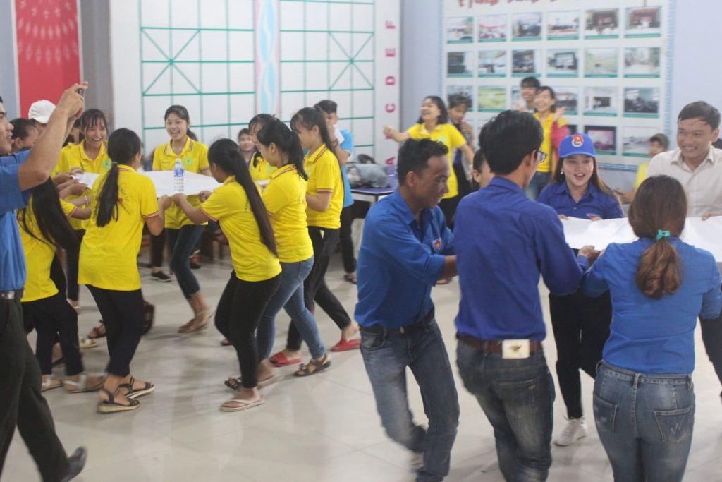 trò chơi team building cho hoạt động đoàn thể