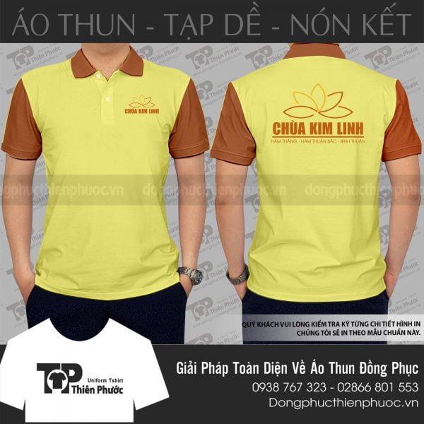 Đồng phục công ty Chùa Kim Linh