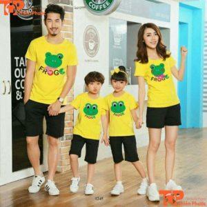 áo cặp đồng phục gia đình 4 người