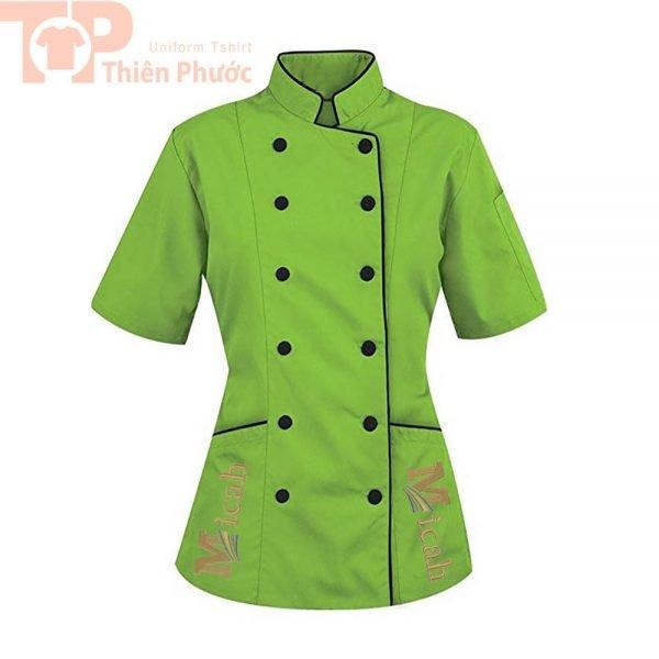 Áo đầu bếp cho nữ đẹp