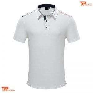 áo đồng phục công ty đẹp màu trắng