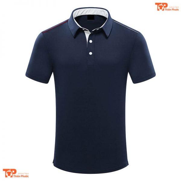 áo đồng phục công ty đẹp màu xanh đen