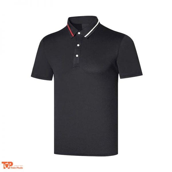 áo đồng phục công ty nam màu đen